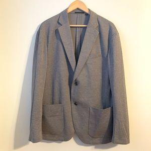 Uniqlo Gray Blazer Sport Coat Size XL